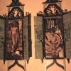 Deux armoires orientales - 50 x 200 x 35 cm. - 1997