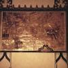 Carte du désert -  230 x 200 cm. - 1997