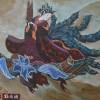 La route de la soie ( détail )